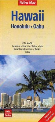 Nelles Map Hawaii: Honolulu, Oahu