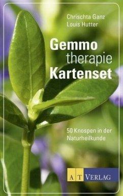 Gemmotherapie Kartenset - Ganz, Chrischta; Hutter, Louis