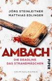 Die Deadline & Das Strandmädchen / Ambach Bd.3+4 (eBook, ePUB)
