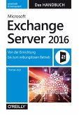 Microsoft Exchange Server 2016 - Das Handbuch (eBook, ePUB)