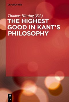 The Highest Good in Kant's Philosophy (eBook, ePUB)