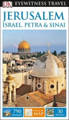 DK Eyewitness Travel Guide Jerusalem, Israel, P...