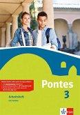 Pontes 3. Arbeitsheft mit Audio-CD