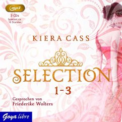 Selection Bd.1-3 (3 MP3-CDs) - Cass, Kiera