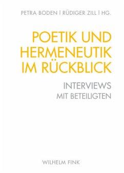 Poetik und Hermeneutik im Rückblick