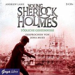 Tödliche Geheimnisse / Young Sherlock Holmes Bd.7 (3 Audio-CDs) - Lane, Andrew