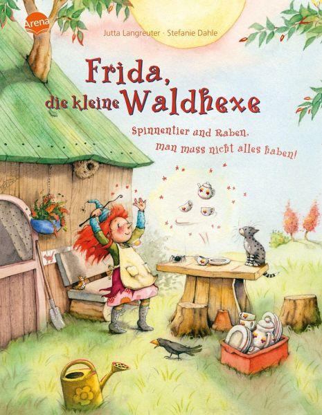 Buch-Reihe Frida, die kleine Waldhexe