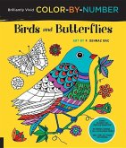 Brilliantly Vivid Color-by-Number: Birds and Butterflies