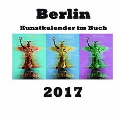 Kunstkalender im Buch - Berlin 2017 - Sens, Pierre