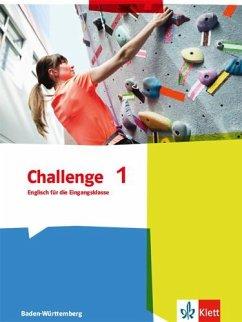 Challenge 1. Schülerbuch. Baden-Württemberg