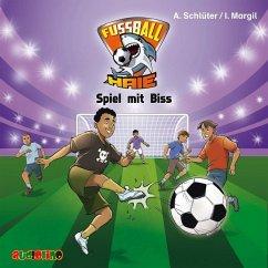 Spiel mit Biss / Fußball-Haie Bd.5 (1 Audio-CD) - Schlüter, Andreas; Margil, Irene
