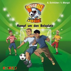 Kampf um den Bolzplatz / Fußball-Haie Bd.4 (1 Audio-CD) - Schlüter, Andreas; Margil, Irene