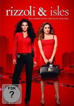 Rizzoli & Isles - Die komplette 6. Staffel (4 Discs) - Angie Harmon,Sasha Alexander,Jordan Bridges