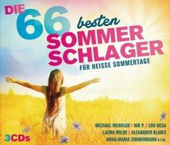 Die 66 Besten Sommerschlager auf Audio CD - Portofrei bei ...