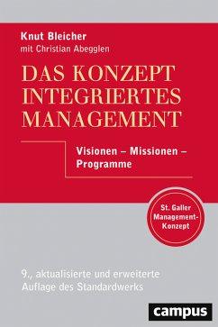 Das Konzept Integriertes Management (eBook, PDF)