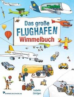 Flughafen Wimmelbuch