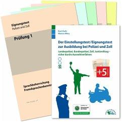 Der Einstellungstest / Eignungstest zur Ausbildung bei Polizei und Zoll - Guth, Kurt; Mery, Marcus
