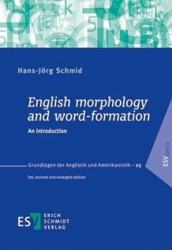 English morphology and word-formation - Schmid, Hans-Jörg