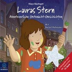 Lauras Stern - Tonspur der TV-Serie, Teil 11: Abenteuerliche Gutenacht-Geschichten (MP3-Download) - Baumgart, Klaus; Neudert, Cornelia