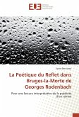 La Poétique du Reflet dans Bruges-la-Morte de Georges Rodenbach