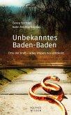 Unbekanntes Baden-Baden (eBook, ePUB)