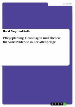 Pflegeplanung. Grundlagen und Theorie für Auszubildende in der Altenpflege (eBook, PDF)