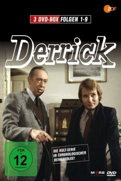 Derrick - Folge 01-09 (3 Discs)