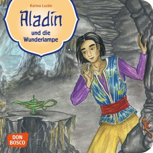 45025 >> Aladin und die Wunderlampe - Buch - bücher.de