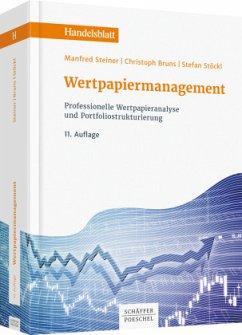 Wertpapiermanagement - Steiner, Manfred; Bruns, Christoph; Stöckl, Stefan