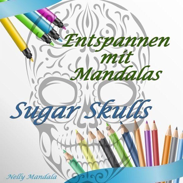Entspannen mit Mandalas - Mandala Malbuch für Erwachsene - Sugar ...