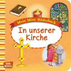 In unserer Kirche. Mini-Bilderbuch.