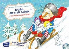 Juchhe, der erste Schnee. Eine Winterklanggeschichte, m. Audio-CD - Gulden, Elke; Scheer, Bettina
