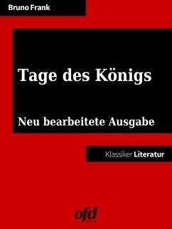 Tage des Königs (eBook, ePUB)