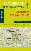 Wanderkarte Oberhof und Zella-Mehlis