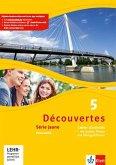 Découvertes Série jaune 5. Cahier d'activités mit MP3-CD, Video-DVD und Übungssoftware