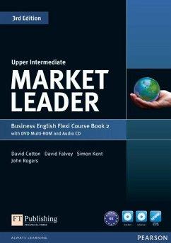 Market Leader Upper Intermediate Flexi Course Book 2 Pack - Cotton, David; Falvey, David; Kent, Simon; Rogers, John