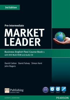 Market Leader Pre-Intermediate Flexi Course Book 1 Pack - Cotton, David