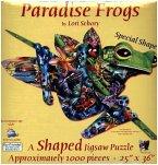 Paradies Frösche (Konturenpuzzle)