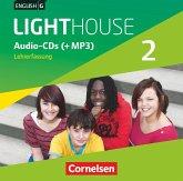 English G Lighthouse - Allgemeine Ausgabe: 6. Schuljahr, Audio-CDs (Lehrerfassung) / English G Lighthouse, Allgemeine Ausgabe 2