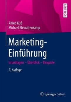 Marketing-Einführung - Kuß, Alfred; Kleinaltenkamp, Michael