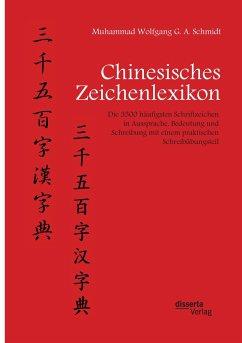 Chinesisches Zeichenlexikon. Die 3500 häufigsten Schriftzeichen in Aussprache, Bedeutung und Schreibung mit einem praktischen Schreibübungsteil - Schmidt, Muhammad W. G. A.