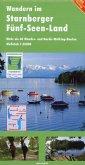 Wandern im Starnberger Fünf-Seen-Land 1 : 35 000
