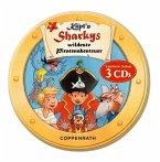 Käpt'n Sharkys wildeste Piratenabenteuer, 3 Audio-CDs