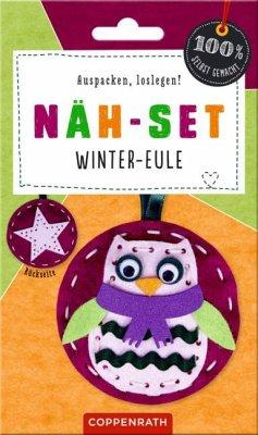 Näh-Set: Filzanhänger Winter-Eule