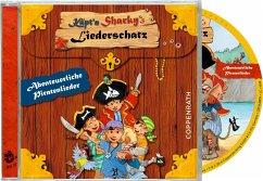 Käpt'n Sharkys Liederschatz, 1 Audio-CD - Langreuter, Jutta