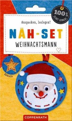 Näh-Set: Filzanhänger Weihnachtsmann