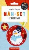 Näh-Set: Filzanhänger Schneemann
