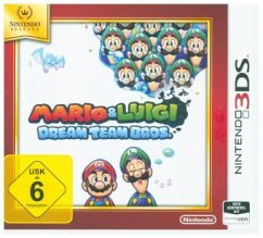 Mario and Luigi: Dream Team Selects (3DS)