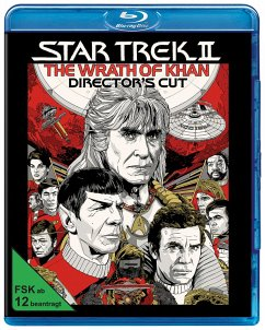 Star Trek II - Der Zorn des Khan Director's Cut - Leonard Nimoy,Deforest Kelley,James Doohan