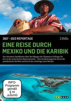 Eine Reise durch Mexiko und die Karibik / 360° - G - 2 Disc DVD - Diverse